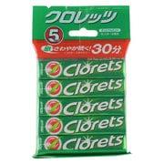 クロレッツXP オリジナルミント粒 14粒×5本入り
