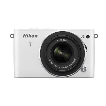 Nikon 1 J3 標準ズームレンズキット ホワイト [「Nikon 1 J3 ボディ ホワイト」+「1 NIKKOR VR 10-30mm f/3.5-5.6」]