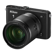 Nikon 1 J3 10倍ズームレンズキット ブラック [「Nikon 1 J3 ボディ ブラック」+「1 NIKKOR VR 10-100mm f/4-5.6」]