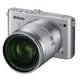 Nikon 1 J3 10倍ズームレンズキット シルバー [ボディ+交換レンズ「1 NIKKOR VR 10-100mm f/4-5.6」]
