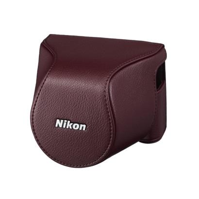CB-N2200S BRD [Nikon 1 J3/S1 用 ボディーケースセット ワインレッド]