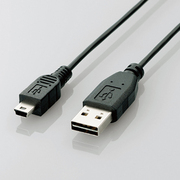 U2C-DMB10BK [USBケーブル リバーシブルコネクタ A-miniB 1m]