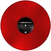 TRAKTOR Scratch Control Vinyl MK2 Red [コントロール・ヴァイナル]