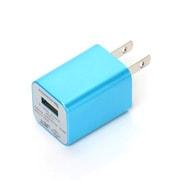 PG-IPDUAC04BL [iPod用USBポート付AC充電器 ブルー]