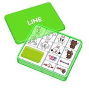 LINE OFFLINE スタンプセット コニー&ブラウン