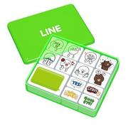 LINE OFFLINE スタンプセット ムーン&ブラウン