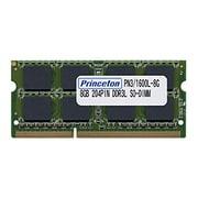 PDN3/1600L-8G [PC3L-12800(DDR3L-1600) CL=11 204PIN SO-DIMM 8GBx1枚組]