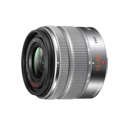 H-FS1442A-S LUMIX G VARIO 14-42mm/F3.5-5.6 II ASPH./MEGA O.I.S. [デジタル一眼カメラ用交換レンズ 14-42mm/F3.5-5.6 マイクロフォーサーズ シルバー]