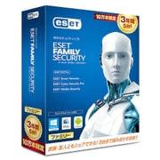 ESETファミリーセキュリティ3年版 10万本限定 CITS-ES06-006 [Windows&Macソフト]