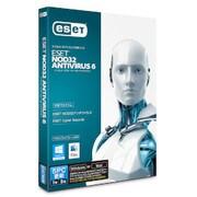 ESETNOD32アンチウイルス V6.0 5PC更新 [Windows&Macソフト]