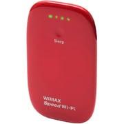 URoad-Aero Red [WiMAX Wi-Fi mobile router レッド]