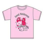 スーパーダンガンロンパ2 マッシュルームTシャツ ピンク Mサイズ