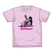 ダンガンロンパ おしおきモノクマTシャツ ピンク Lサイズ
