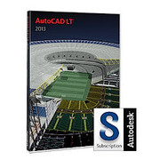 AutoCAD LT 2013 Commercial New SLM with Subscription in the Box [Windowsソフト]