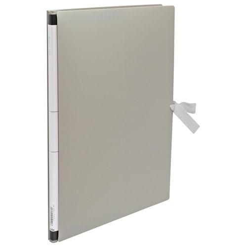 AE-1250 ライトグレー [のび~るファイル<エスヤード>PP製 A4-S]