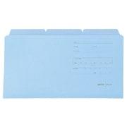 CFC-63 ブルー [カラーフォルダー 統一伝票用(3枚入) B4・1/3サイズ ブルー]