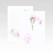 LE601 [花づくし セミB5 便箋]
