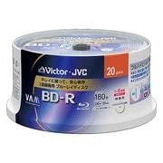 BV-R130J20W [録画用BD-R 追記型 1-6倍速 片面1層 25GB 20枚 ホワイトレーベルインクジェットプリンター対応]