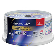 BV-R130J30W [録画用BD-R 追記型 1-6倍速 片面1層 25GB 30枚 ホワイトレーベルインクジェットプリンター対応]