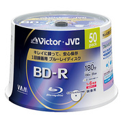 BV-R130J50W [録画用BD-R 追記型 1-6倍速 片面1層 25GB 50枚 ホワイトレーベルインクジェットプリンター対応]