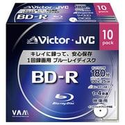 BV-R130CW10 [録画用BD-R 追記型 1-4倍速 片面1層 25GB 10枚 ホワイトレーベルインクジェットプリンター対応]