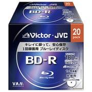 BV-R130CW20 [録画用BD-R 追記型 1-4倍速 片面1層 25GB 20枚 ホワイトレーベルインクジェットプリンター対応]