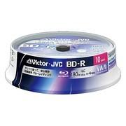BV-R130C10W [録画用BD-R 追記型 1-4倍速 片面1層 25GB 10枚 ホワイトレーベルインクジェットプリンター対応]