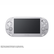 PlayStation Wi-Fiモデル アイスシルバー 限定版 [PS Vita本体 ファンタシースターオンライン2同梱]
