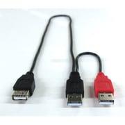 GM-UH009Y [Y字型USB延長ケーブル]