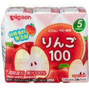 紙パック飲料 りんご100 125ml×3個パック [対象月齢:5・6ヶ月頃~]