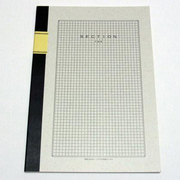 A5008 [A4判ノート A4方眼ノート 5mm方眼 40枚]