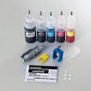 THC-351350SET5 [キヤノン用詰め替えインク CI-351C/M/Y/BK・BCI-350PGBK対応]