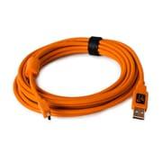 CU5451 [TetherPro USB 2.0 male to Mini-B 5 pin 15ft.(4.6m) オレンジ]