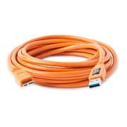 CU5454 [TetherPro USB 3.0 male to Micro-B 5 pin 15ft.(4.6m) オレンジ]