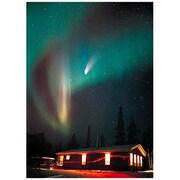 したじき ヘールボップ彗星とオーロラ [冬]