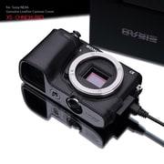 XS-CHNEX6BKO [ソニーNEX6用本革カメラハーフケース(Micro USB接続対応モデル) ブラック]
