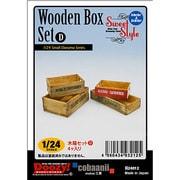 SS-013 [1/24 スウィートスタイル Wooden Box Set D 木箱 4個入り]