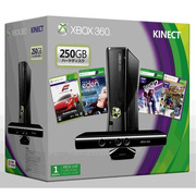 Xbox360 250GB + Kinect プレミアムセット S7G-00140 [セットモデル]