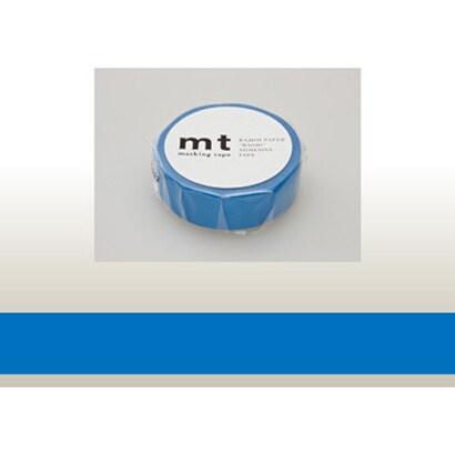 MT01P183 [15mm×10m mt1P ブルー]