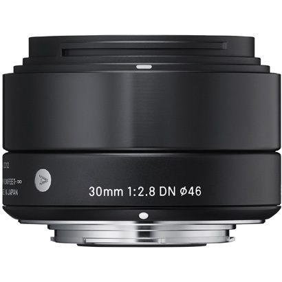 DN 30mmF2.8 ブラック [Artライン 30mm/F2.8 ブラック ソニーEマウント]
