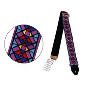 VGS484 STAINED GLASS PURPLE