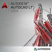 Autodesk AutoCAD LT 2014 New SLM Subscription in the Box [Windows]