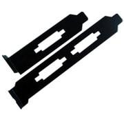 PUG-01BK [PCリフォームケーブルシリーズブラケットセット(黒)]