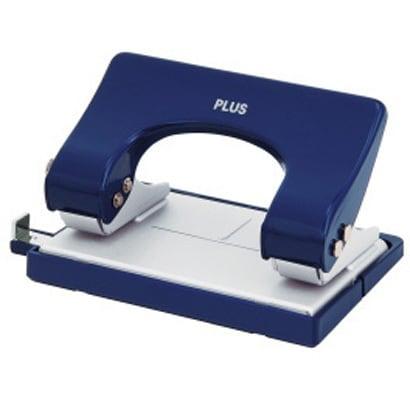 PU-815AB BL [2穴パンチ フォース 1/2 S ブリスターパック入り ブルー]