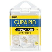 CP-102L [フックピン 丸型 クリアー]