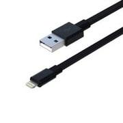 RK-ACF31K [iPhone5/iPad対応充電&同期ライトニングケーブル Power&Sync ブラック]