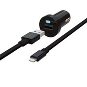 RK-CCF42K [iPhone5対応車載用充電器 1.0A Car Charger ブラック]