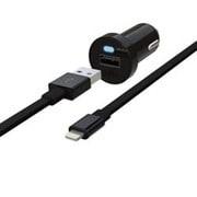 RK-CCF52K [iPad 4th対応車載用充電器 2.4A Car Charger ブラック]