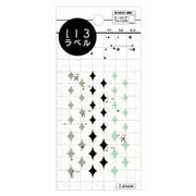 ML060 [いろラベル きらきら クリア/wise(ワイズ)]