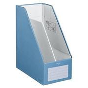 フ-EW450B [ファイルボックスS<ワイドタイプ> A4縦 収容幅142mm 青]